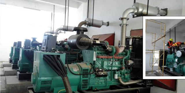 肯尼亚采购4台重庆康明斯柴油发电机组
